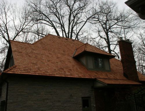 New Cedar Re-Roof in Mississauga