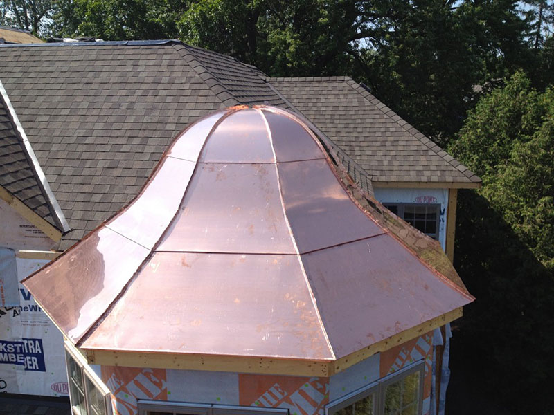 Copper Turret Roof