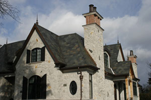 Beautiful Weathering Slate Roof in Mississauga