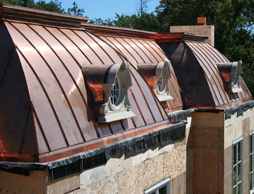 Current Project: Custom Copper Roofing