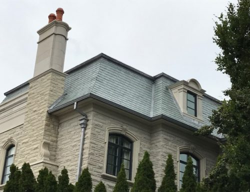 Unfading Green and Unfading Grey Slate Roofing in Toronto area